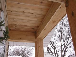 Cedar Soffit Good Burnaby Custom Home Project