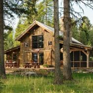 Chalet Bois Rustique Vivons Maison