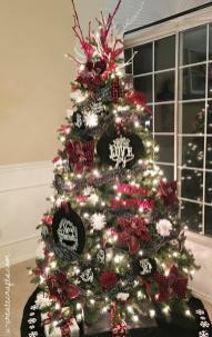 Chalkboard Plaid Christmas Tree Create