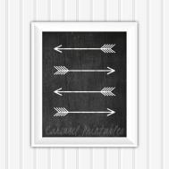 Chalkboard Wall Art Arrow Printable