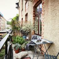 Charming Small Apartment Gothenburg Unique Details