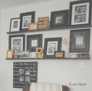 Cheerful Wall Shelves Wild Wood Home Ideas