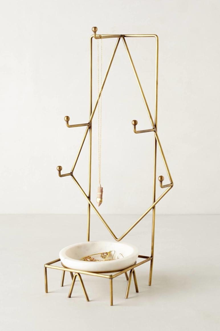 Chic Jewelry Stands Sculptural Style