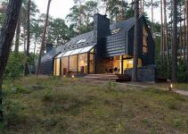 Chic Modern Forest Home Lithuania Studija Archispektras