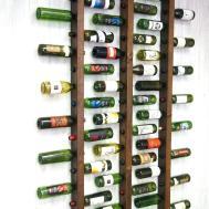 Chic Rustic Homemade Wine Rack Diy Craft Handimanium