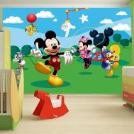 Childrens Bedroom Disney Character Wall Mural