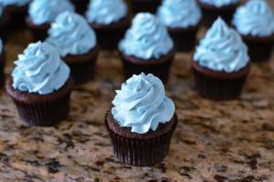 Chocolate Baby Shower Cupcakes Butteryum