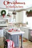 Christmas Decorating Kitchen