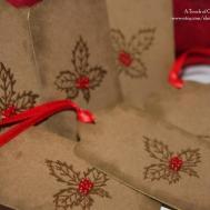 Christmas Gift Holly Handmade Set