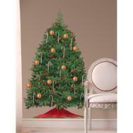 Christmas Tree Giant Tall Wall Decal Room Decor