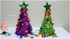 Christmas Tree Part Table Top Diy