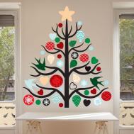 Christmas Tree Wall Decal Kit