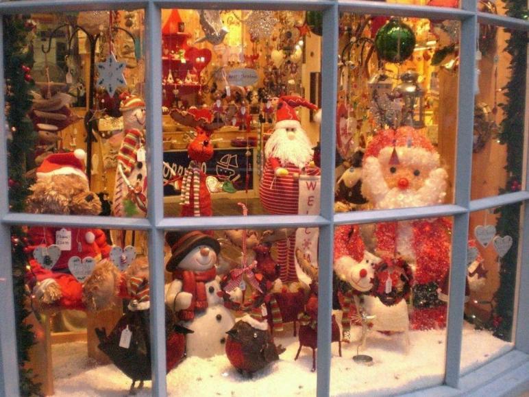 Christmas Window Decorations 2013 Happy