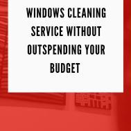 Clean Windows High Rise Buildings