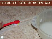 Cleaning Tile Grout Natural Way