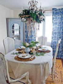 Coastal Chic Holiday Table Entertaining Ideas Party
