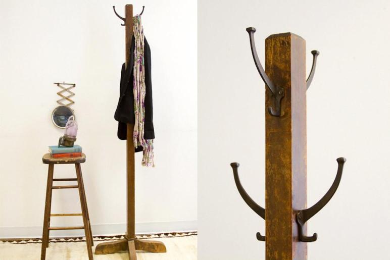 Coat Racks Stunning Wooden Standing Rack
