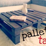 Coffee Table Chic Pallet Diy Ideas White