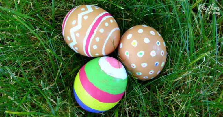 Color Natural Brown Eggs Easter Rhythms Play