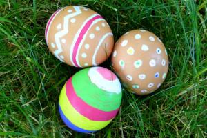 Color Natural Brown Eggs Easter Rhythms Play