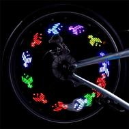 Colorful Bicycle Bike Cycling Wheel Spoke Light Led Diy