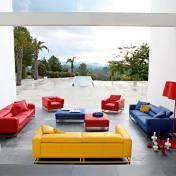 Colorful Furniture Ideas Spring Living Room Interior