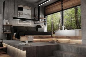 Concrete Wall Ideas Interior Design