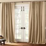 Contemporary Kitchen Curtains Sliding Glass Door Window Decoratorist 100580