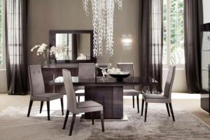 Contemporary Modern Retro Elegant Dining Room Photos