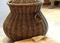Contemporary Wicker Laundry Baskets Using