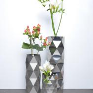 Convert Vase Collection Stainless Steel Inspired