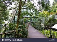 Cool House Inside National Orchid Garden Singapore