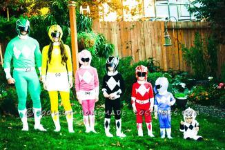 Coolest Power Rangers Costumes Family Halloween Costume