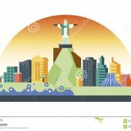 Corcovado Cartoons Illustrations Vector Stock