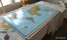 Cork Board Maps Eatatjacknjills