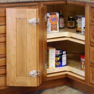 Corner Cupboard Storage Solutions