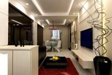 Corridor Ceiling Design Designs Apartment Long Narrow
