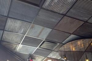 Corrugated Metal Drop Ceiling Tiles Ceilling