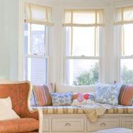 Country Kitchen Curtain Ideas Window Treatment Bay