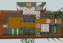 Courtyard House Abin Design Studio Homedsgn Clipgoo