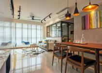 Cozy Apartment Singapore Stylish Elements
