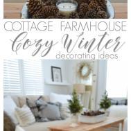 Cozy Cottage Farmhouse Winter Decorating Ideas Fox