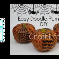 Craft Life Fun Easy Diy Doodle Pumpkins Halloween Room