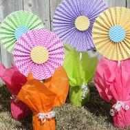 Craft Patch Cheerful Cheap Easy Flower Centerpieces