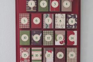 Craft Patch Matchbox Advent Calendar