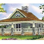 Craftsman House Plans Fenwick 012 Associated Designs