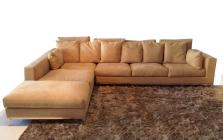 Cream Velvet Modular Sofa Bed Which Matched Large