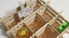 Create Cute Popsicle Stick Organizer Diy Home