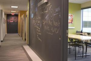 Create Office Idea Spaces Chalkboard Paint Shaw