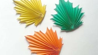 Create Paper Maple Leaves Diy Crafts Tutorial